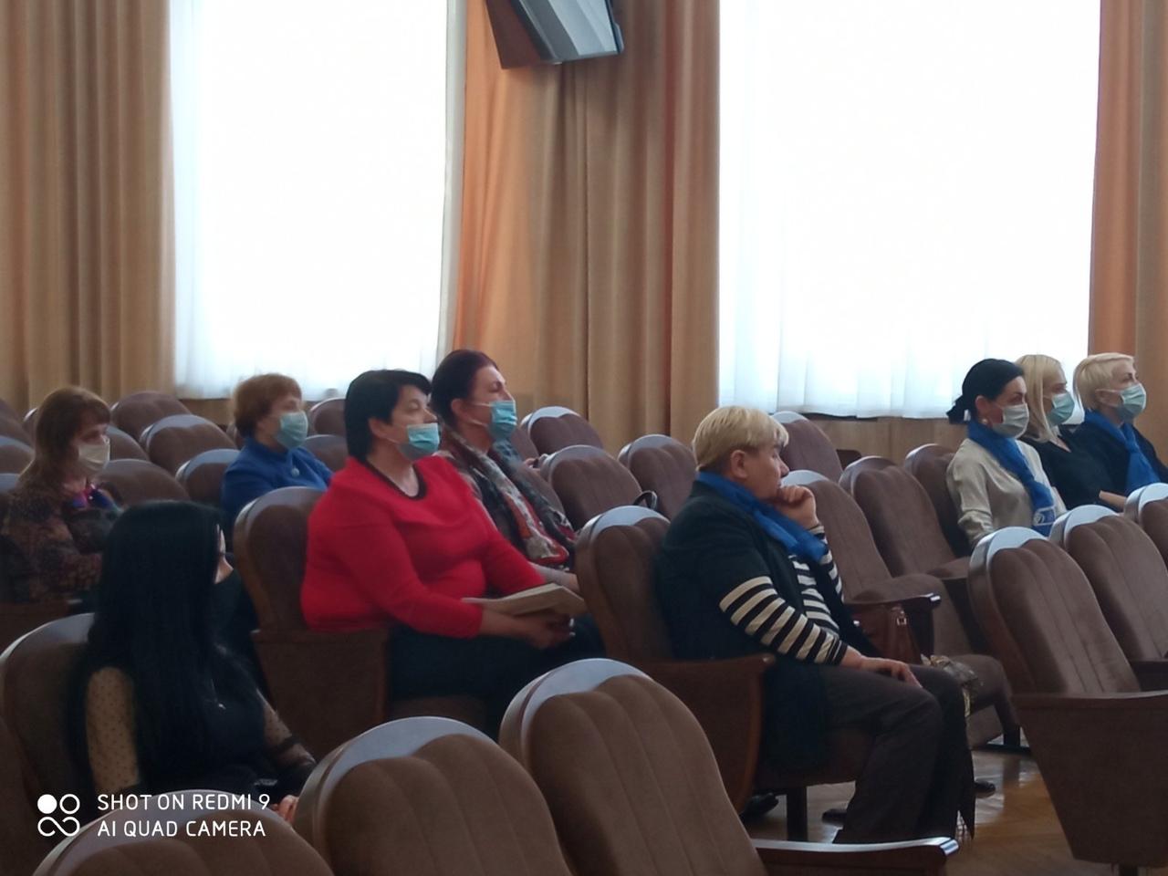 Диалоговая площадка с активом районной организации ОО «БСЖ».