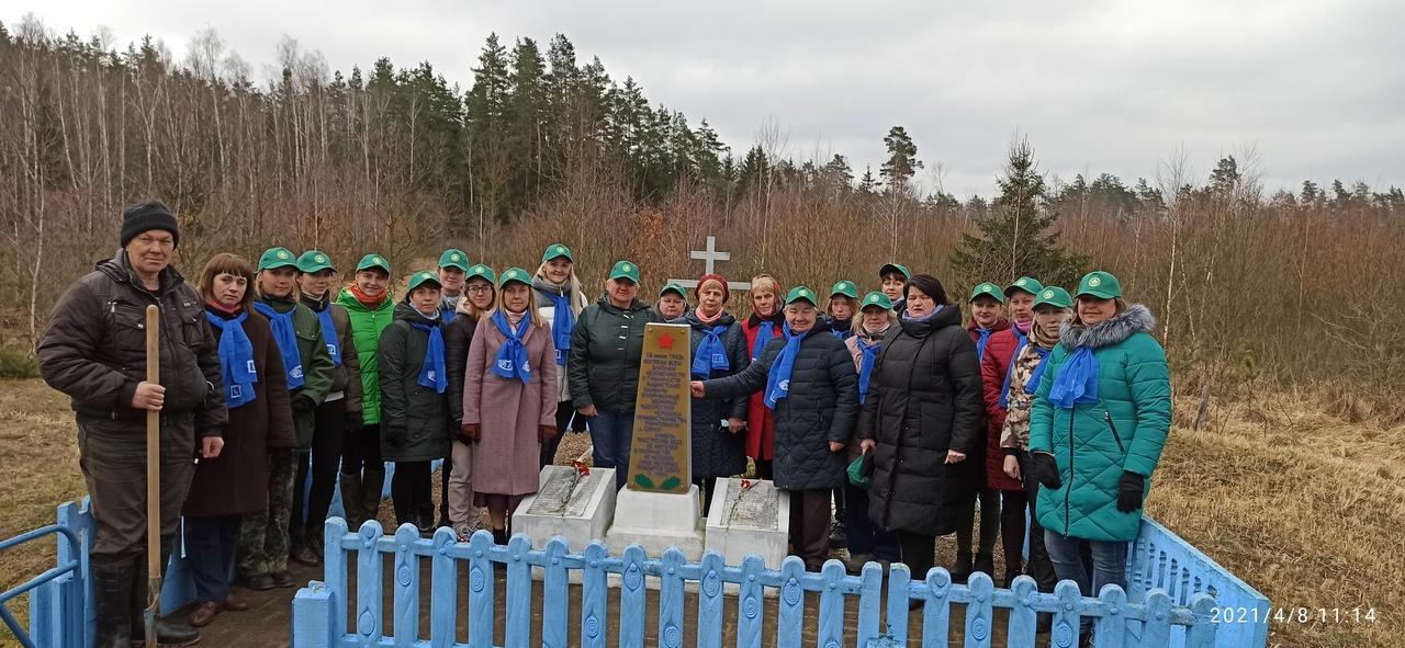 Памяти погибших жителей сожженной деревни Синий Камень.